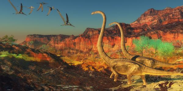 Jorden på dinosaurernes tid – et undervisningsmateriale til naturteknologi indskoling