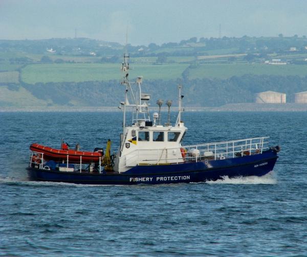 fiskerikontrol Ross 2008 Wikimediacommons The  Ken Vickers  off Bangor   geograph org uk   959679