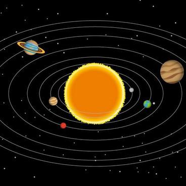 De otte planeter