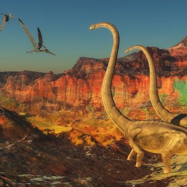 Jorden på dinosaurernes tid